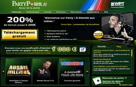 Accueil Party Poker